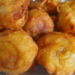 Cempedak Goreng or Jack-fruit Fritters