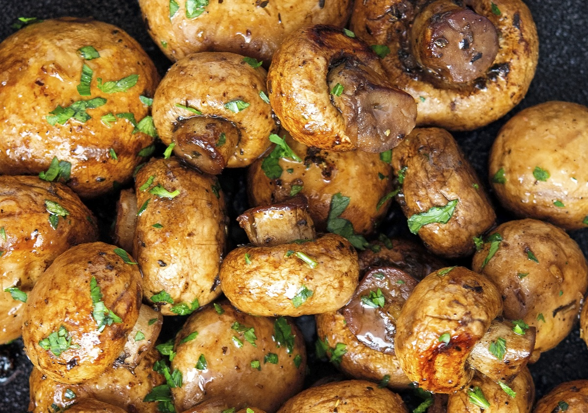 Butter Grilled Mushrooms