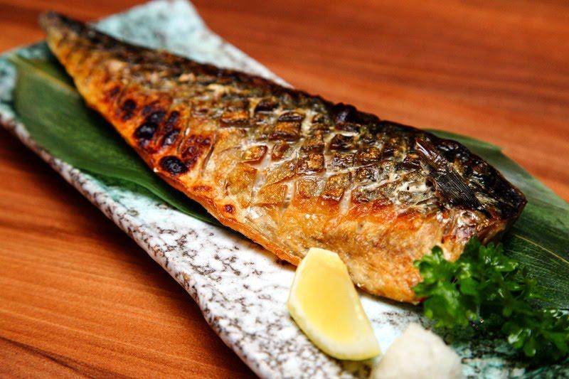 Salt Grilled Mackerel or Saba Shioyaki