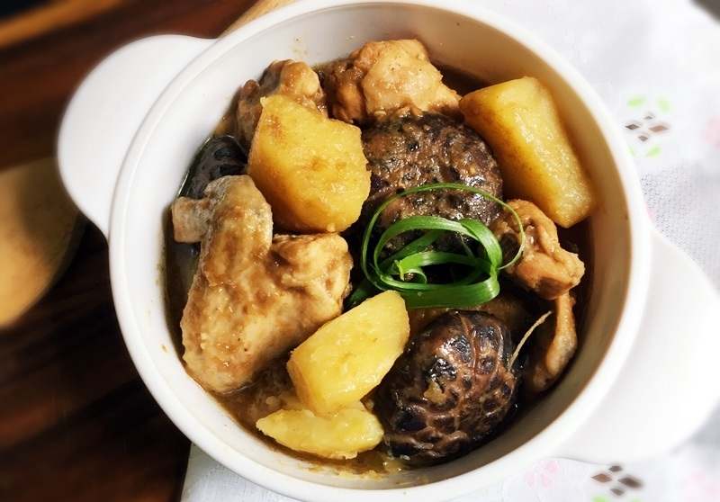 Nyonya Chicken and Potato Stew – Ayam Pongteh