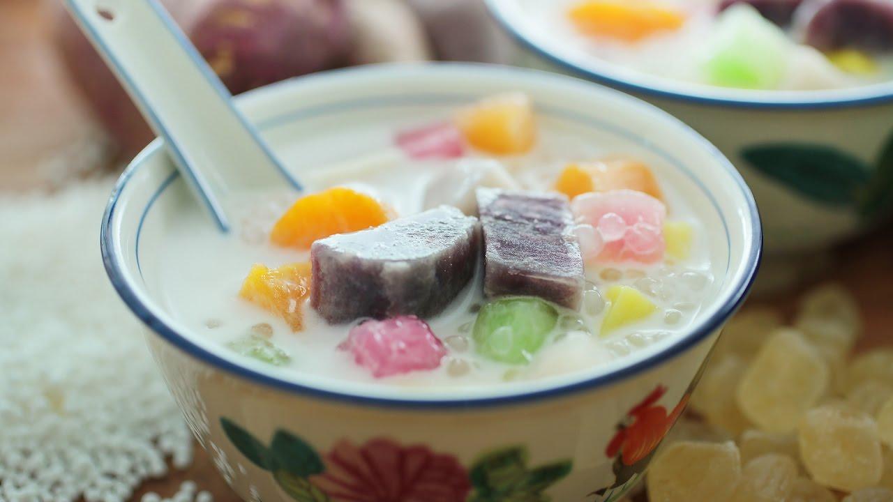 Nyonya Dessert : Bubur Cha Cha